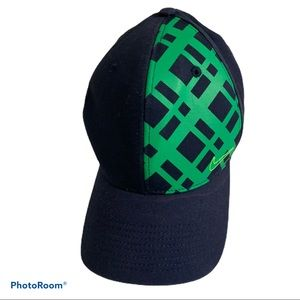 Nike Golf Hat Navy Blue With Green One Size Men